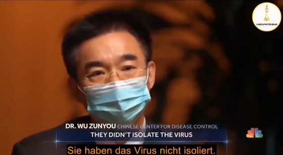 Dr Wu Zunyou - They didn't isolate the virus