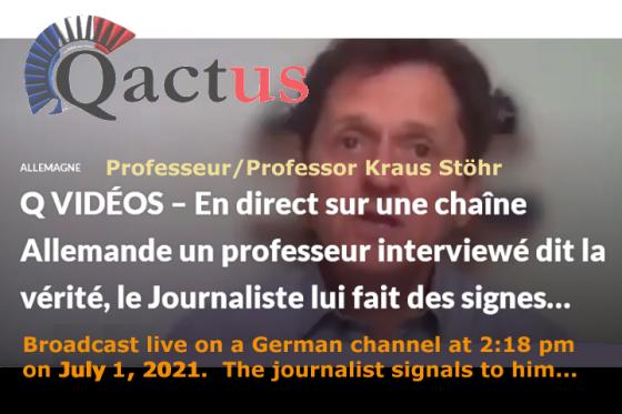 - Professeur Kraus Stöhr (Allemagne)