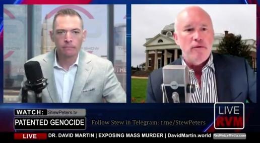Stew Peters interviews David E. Martin