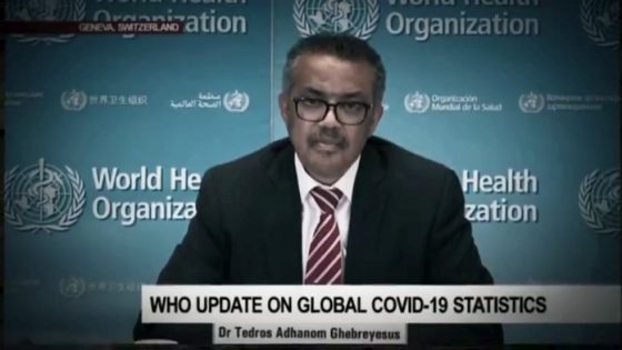 Tedros Who is the WHO