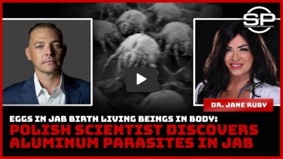 Polish Scientist Discovers Aluminum Parasites in Jab