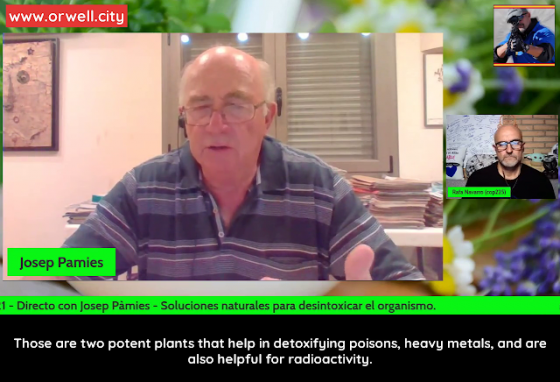 Josep Pàmies on how to Detoxify the Body with Natural Infusions (Spanish with English subtitles)
